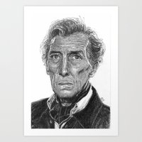 Peter Cushing Art Print
