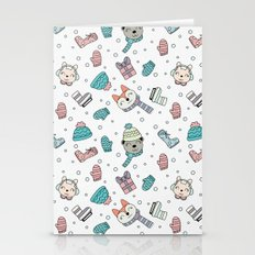 ANIMAL FRIENDS HOLIDAY Stationery Cards