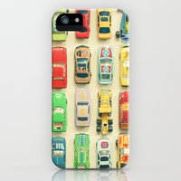 iPhone Cases featuring Car Park by Cassia Beck