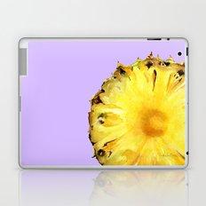 Pineapple on Lavender Laptop & iPad Skin