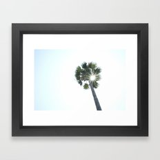The Sole Palm Framed Art Print