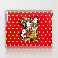 Quirky Office Gals Laptop & iPad Skin