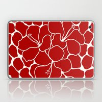 Hibiscus Animal RED IVOR… Laptop & iPad Skin