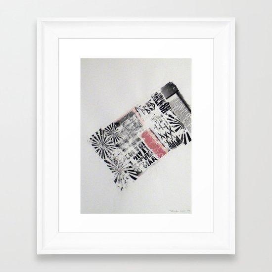 RETRO2 Framed Art Print