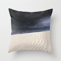 Dunes In Fuerteventura Throw Pillow