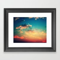 My Head Is Stuck In The … Framed Art Print