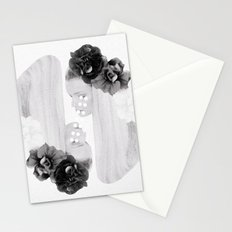selene and eos (black and white) Stationery Cards