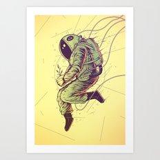 Green Mission Art Print