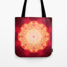 Fire Galaxy Tote Bag