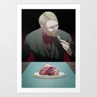 Remarkable Boy (Hannibal Lecter) Art Print