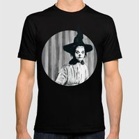 My Grandma Did The Hocus… Mens Fitted Tee Black SMALL