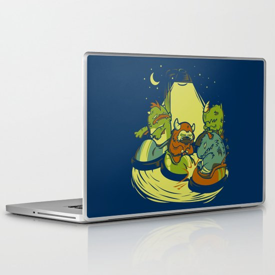 Things that go Bump in the Night Laptop & iPad Skin