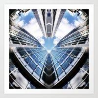 Love Sky High Art Print