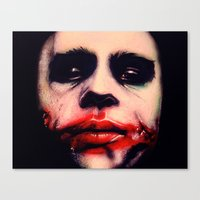The Harlequin Of Hate  Canvas Print