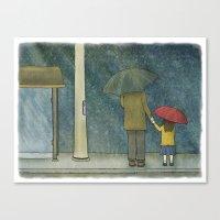 Daughter Rain Canvas Print