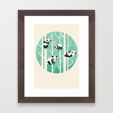 Lazy Sunday Framed Art Print