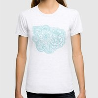 Good Vibes Womens Fitted Tee Ash Grey SMALL