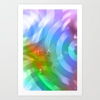 Interloped Art Print