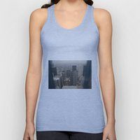 Skyline In Perspective Unisex Tank Top
