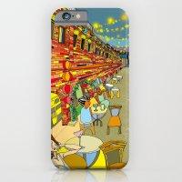 Le Cafe De Nuit  iPhone 6 Slim Case