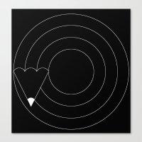 Drawing Circles Canvas Print