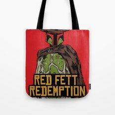 Red Fett Redemption Tote Bag