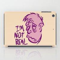 POOR CARTOON MAN iPad Case