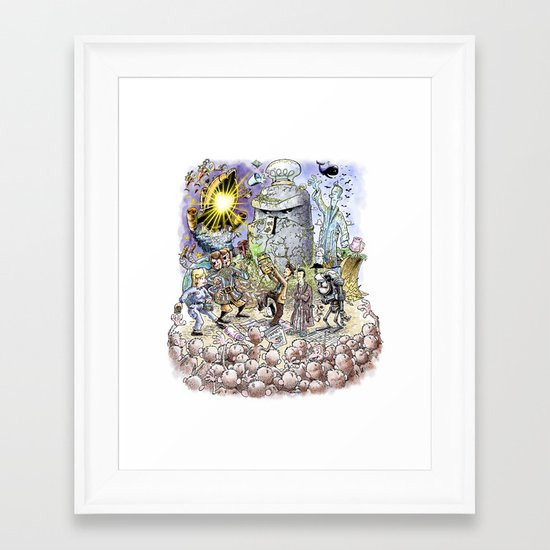 Thursday Framed Art Print