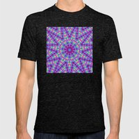 optical illusion Mens Fitted Tee Tri-Black SMALL