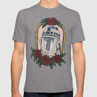 R2D2 Mens Fitted Tee Tri-Grey SMALL