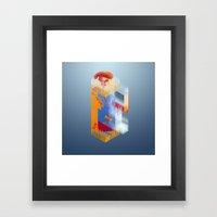 Castle Of Impossible Fla… Framed Art Print