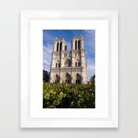 Notre Dame Paris Framed Art Print