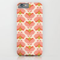 Peach Tulip iPhone 6 Slim Case