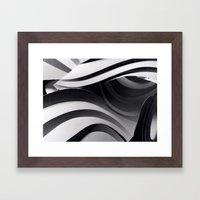 Paper Sculpture #5 Framed Art Print