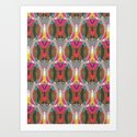 Abstract Pattern - Futuristic Art Print