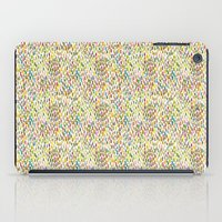 Brush Stroke Warm Summer iPad Case