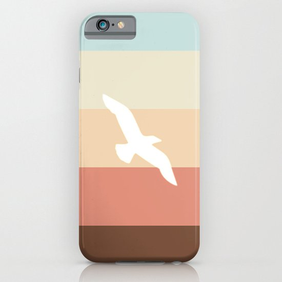 Out At Sea Series - Sun, Sand and Seagulls iPhone & iPod Case