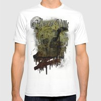 Skulldrip Mens Fitted Tee White SMALL