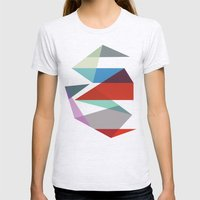 Shapes 015 Womens Fitted Tee Ash Grey SMALL