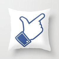 Likeable Throw Pillow