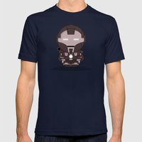 ChibizPop: War Mens Fitted Tee Navy SMALL