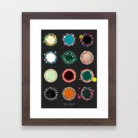 The Planets Print One Framed Art Print