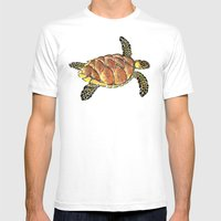 Hawksbill Mens Fitted Tee White SMALL