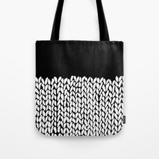 Half Knit Tote Bag