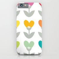 iPhone & iPod Case featuring Heart petals by Hello Olive Designs