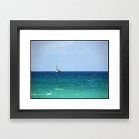 Sailboats! Framed Art Print
