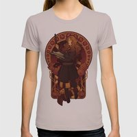 The Brightest Witch Of H… Womens Fitted Tee Cinder SMALL