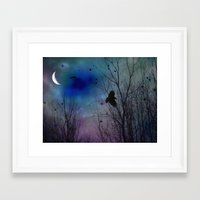 Just Around Midnight Framed Art Print