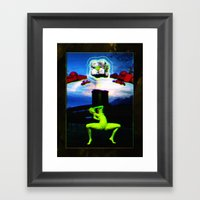 Genesis I (collaboration… Framed Art Print
