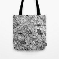 BW Tote Bag